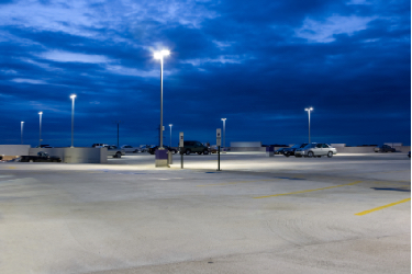 Keep Parking Lots Secure and Well Lighted